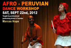AFRO-PERUVIAN DANCE WORKSHOP