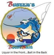 Buster's Beer and Bait & Buster's Hangar 67 logo