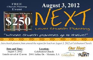 NEXT Level Church Planting Luncheon