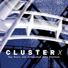 Cluster: New Music + Integrated Arts logo