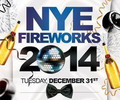 NYE Fireworks 2014