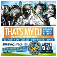"""""""THATS MY DJ 2018""""...DAMN THAT DJ MADE MY DAY @ WHISKY RIVER...THE #1 PARTY SPOT IN THE EPICENTRE!"""