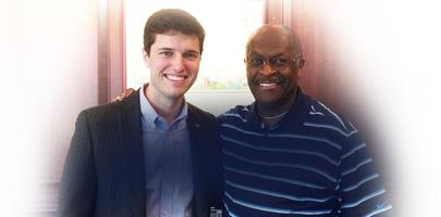 2014 Campaign Kickoff with Paul Dietzel and Herman Cain