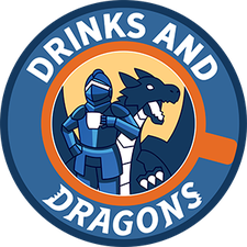 Drinks and Dragons logo