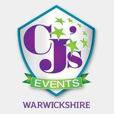 CJ's Events Warwickshire logo