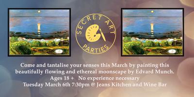 SecretArtParties       @Jeans Kitchen and Wine Bar...