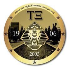 Tau Xi Chapter of Alpha Phi Alpha Fraternity Inc. logo
