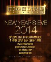 Highline Ballroom New Years Eve