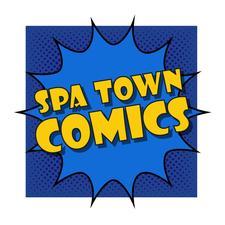 Spa Town Comics logo