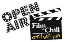 Open Air Film & Chill logo