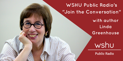 "WSHU Public Radio's ""Join the Conversation"" with Linda..."