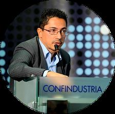 Università di Camerino e Filippo Cossetti di CrowdfundIMPRESA logo