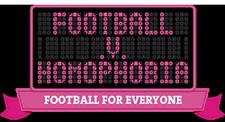 Football v Homophobia logo