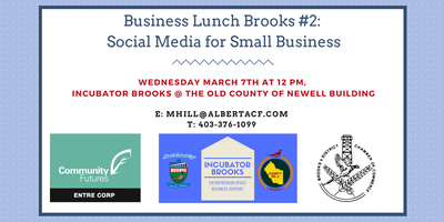 Lunch Brooks #2: Social Media for Small Business...