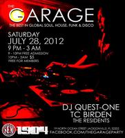 The Garage w/ Quest-One    Global Soul, House, Funk & Disco