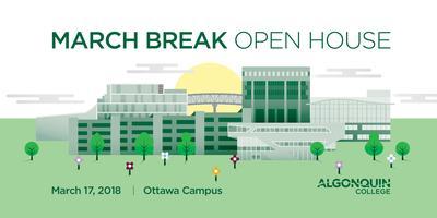 2018 March Break Open House or March Break Campus Tours