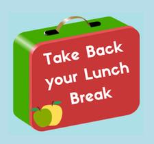 Take Back your Lunch Break! logo