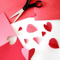 Valentine's Day Card Making