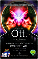 Ott and the All Seeing I NYC