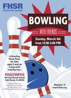 FHSR Associate Board presents Bowling With Friends