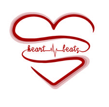 HEART BEATS - Living from the Heart Space logo