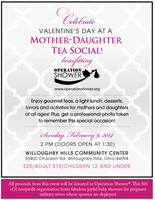 Mother Daughter Tea Social