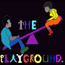 "The Playground™, ""M"" Entertainment with PK&QP  logo"