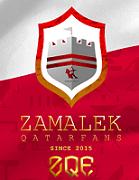Zamalek Qatar Fans logo