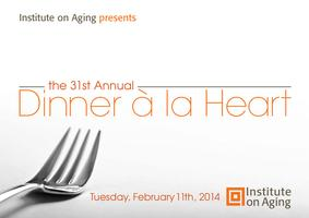 Institute on Aging presents Dinner à la Heart Tuesday,...