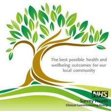 NHS Surrey Heath Clinical Commissioning Group logo