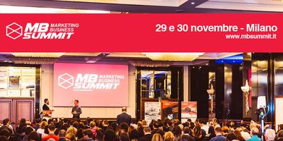 Marketing Business Summit 2018 Milano - SEO, Social Media, Coaching, Business e ADV