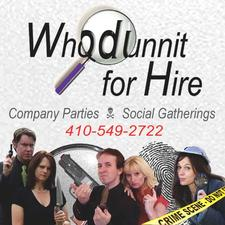Whodunnit for Hire logo