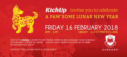 Paw'some Lunar New Year Party