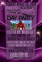 Ohio Kurvy Fashion Weekend Pink & Black Day Party