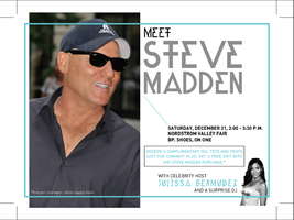 Meet STEVE MADDEN the man behind the brand, hosted by TV...
