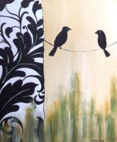 Sip n' Paint Birds on a Wire: Friday, February 14th,...