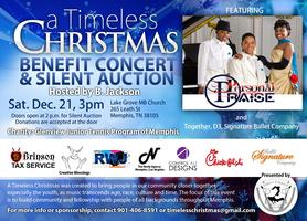 A Timeless Christmas Benefit Concert and Silent Auction