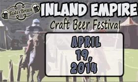 Taste of Brews - April 19, 2014 - Inland Empire