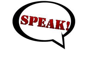 "Live Taping of ""SPEAK!"""