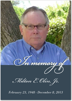 Milton E. Olin, Jr. Memorial