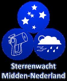 Sterrenwacht Midden-Nederland logo