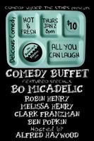 COMEDY BUFFET - JAN 2