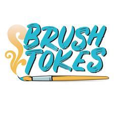 Brush Tokes logo