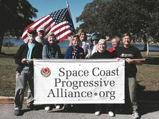 The Space Coast Progressive Alliance logo