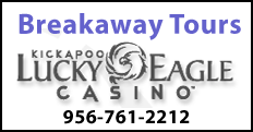 Kickapoo Lucky Eagle Casino Excursion from RGV