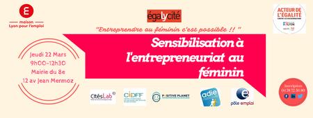 Sensibilisation à l'Entrepreneuriat féminin en...