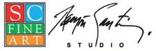 Ramon Santiago Studio & SC Fine Art Gallery logo