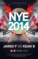 MATRIXFILLMORE New Years Eve 2014 Feat Jared F & Kean B