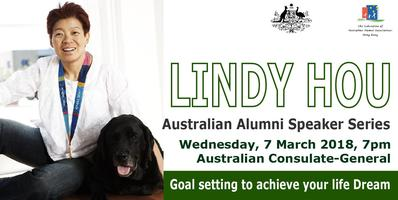 Australian Alumni Speaker Series: Lindy Hou - Goal setting to achieve your life Dream