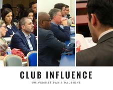 Club Dauphine Alumni Influence logo